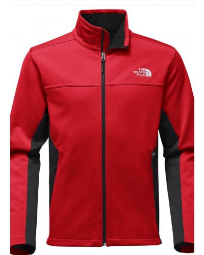 Men's Apex Canyn Wall Jacket in Rage Red by The North Face