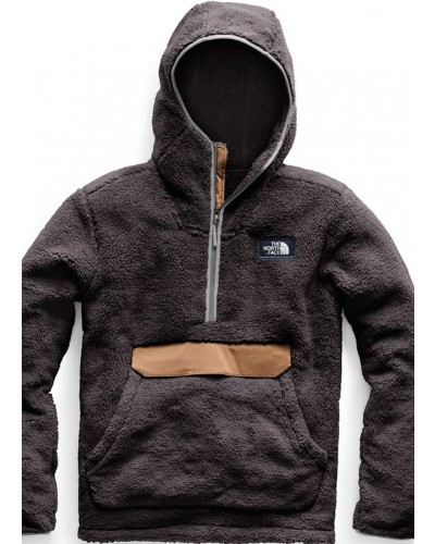 Campshire Pullover Hoodie in Weathered Black/Cargo Khaki by The North Face