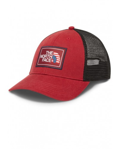 Americana Trucker Hat In Cardinal Red by The North Face
