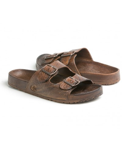 Buckle Sandal in Brown by Pali Hawaii