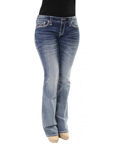 Bootcut Jeans in Neela by Rock Revival