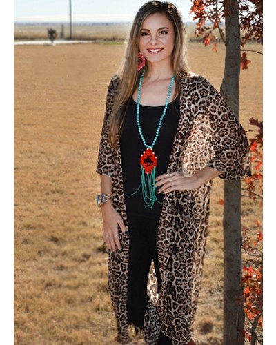 Dixie Duster in Cheetah by Crazy Train