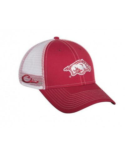 Arkansas Mesh Back Cap in Cardinal