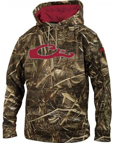 Arkansas Collegiate Hoodie in Bottomland by Drake