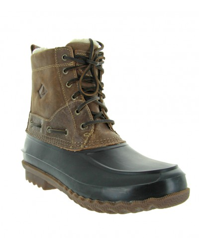 Decoy Boot Shearling in Brown by Sperry Top Sider