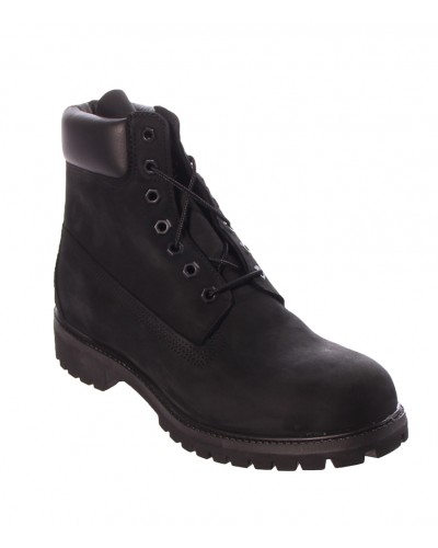 6'' Premium Boot in Black Nubuck by Timberland
