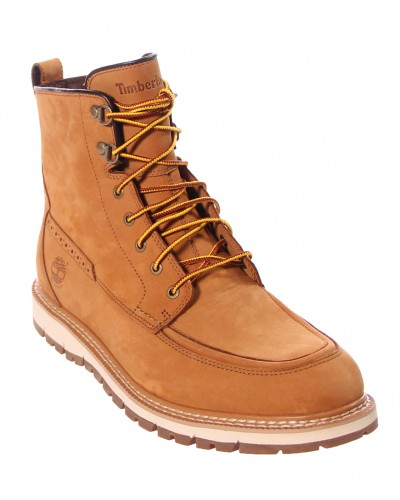 Britton Hill Waterproof Moc Toe Boot in Wheat by Timberland