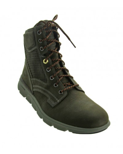 Eagle Bay Leather Boot in Olive Nubuck by Timberland