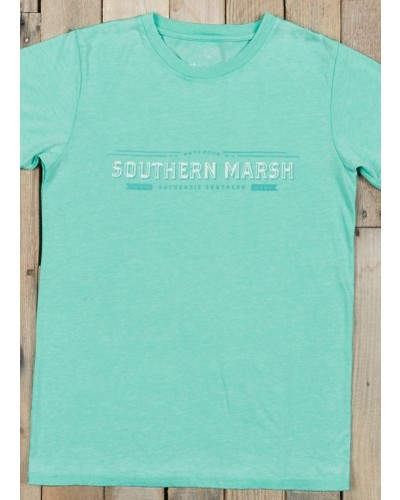 Seawash Crewneck Rustic in Mint by Southern Marsh