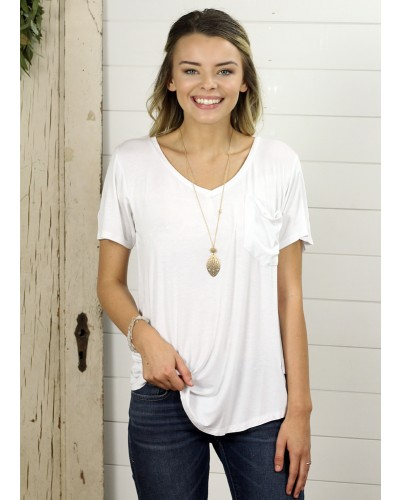 S/S Phoenix Tee in White by Another Love