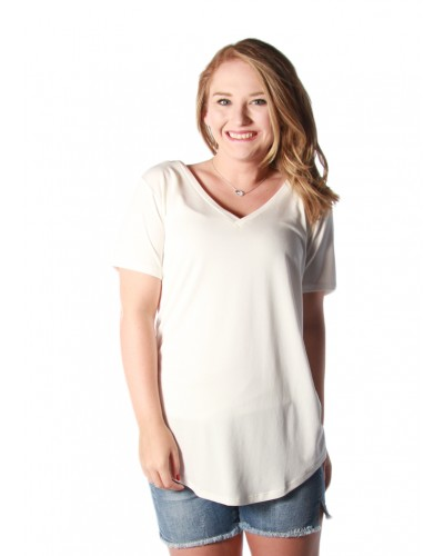 Valentina Top in White by Another Love