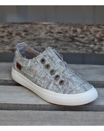 Kids Play in Silver Glam Weave by Blowfish