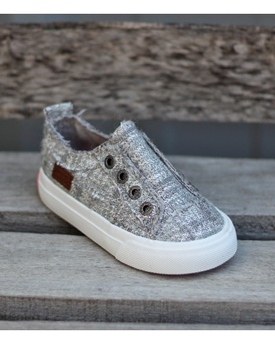 Toddler Play in Silver Glam Weave by Blowfish