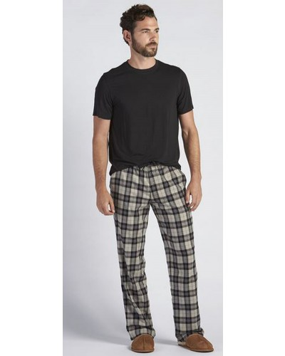 Grant Set in Black/Plaid Black by UGG