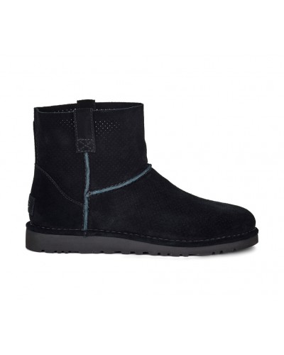 Classic Unlined Mini Perf in Black by UGG