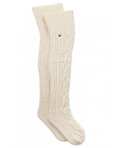 Cable Knit Sock in Cream by UGG