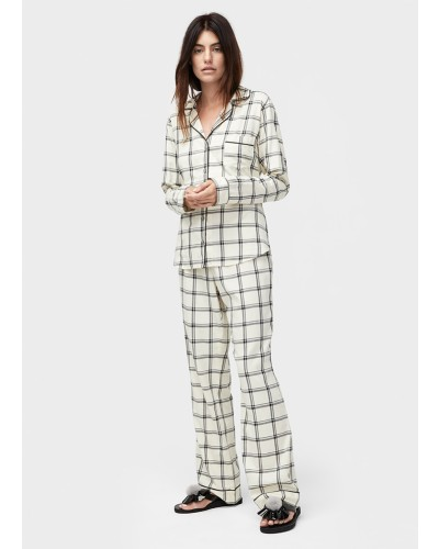 Raven set plaid in cream/black by Ugg