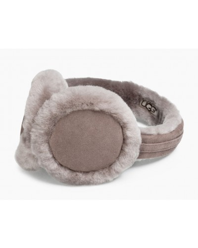 Classic Wired Sheepskin EarMuff w/Speaker Technology in Stormy Grey by Ugg