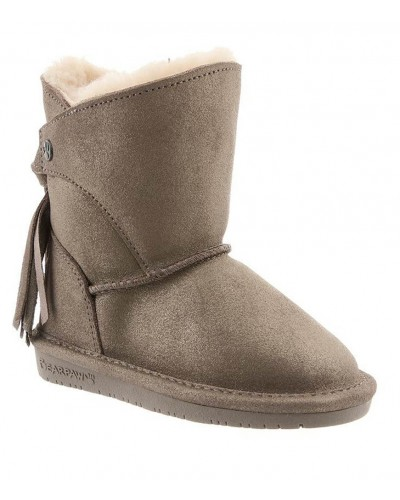 Mia Toddler in Pewter Distressed by Bearpaw