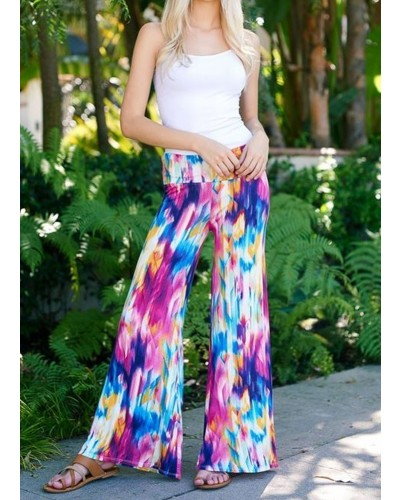 Palazzo Pants in Multi