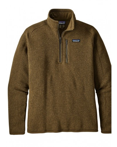 Men's 1/4 Zip Better Sweater in Sediment by Patagonia