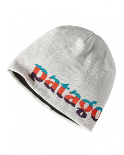 Beanie Hat in Logo Belwe Mini: Birch White by Patagonia