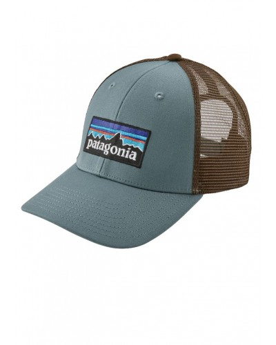 P-6 Logo LoPro Trucker Hat in Shadow Blue by Patagonia