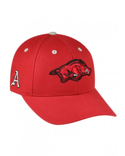 Triple Threat Arkansas Hat Adjustable-Team Color by Top of the World