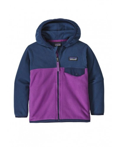 Micro D Snap-T Jacket in Ikat Purple/Stone Blue by Patagonia
