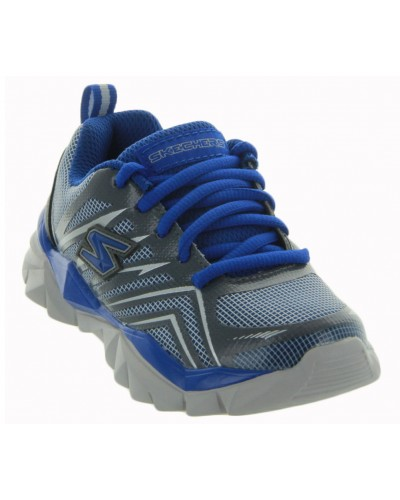 Electronz - Pit Stop in Navy/Blue by Skechers