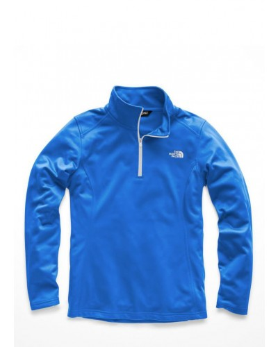 Womens Tech Glacier 1/4 Zip Bomber Blue by The North Face