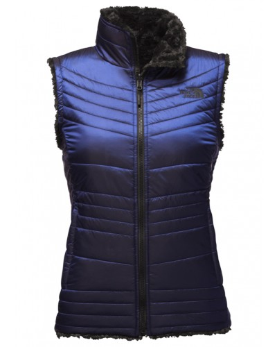 Mossbud Swirl Vest in Brit Blue by The North Face