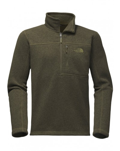 Gordon Lyons 1/4 Zip NW Taupe Gn Heather by The North Face