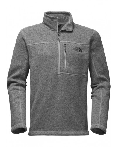 Gordon Lyons 1/4 Zip in TNF Medium Grey Heather by The North Face