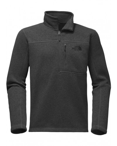 Gordon Lyons 1/4 Zip in TNF Dark Grey Heather by The North Face