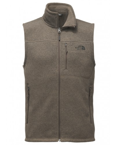 Gordon Lyons Vest in Falcon Brown Heather by The North Face