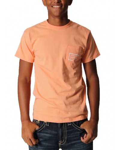 Authentic T-Shrit in Melon by Southern Marsh