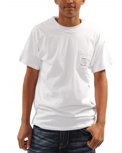Authentic T-shirt in White by Southern Marsh