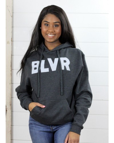 Blvr Hoodie in Black by Crazy Cool Threads