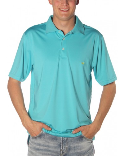 Bermuda Performance Polo in Teal by Southern Marsh
