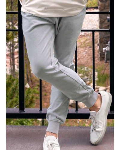 Seawash Joggers in Light Grey by Southern Marsh