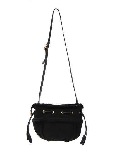 Quinn Small Drawstring in Black by UGG