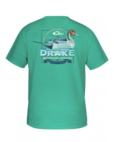 Southern Collection Pintail Tee in Chalky Mint by Drake