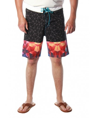 Addington Boardshort in Black by American Fighter