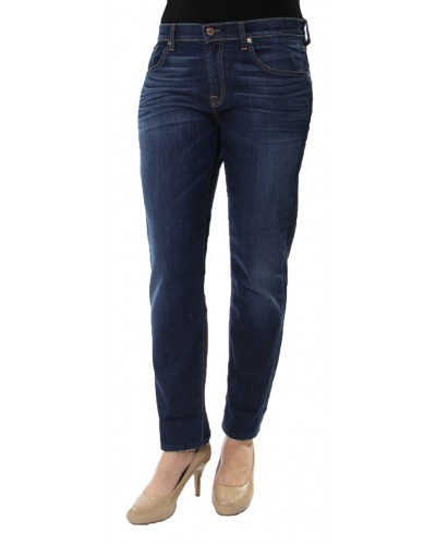 Relaxed Skinny Jeans in Medium Indigo by Seven For All Mankind