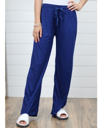 Loung Pant in Navy by DM Merchandising