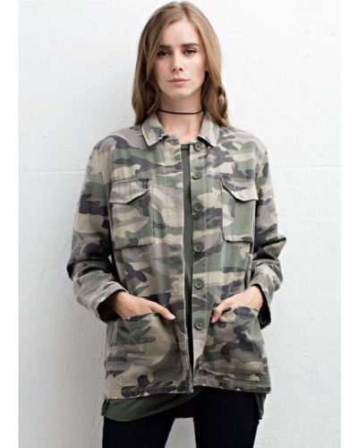 Camo Jacket in Army by Jodifl