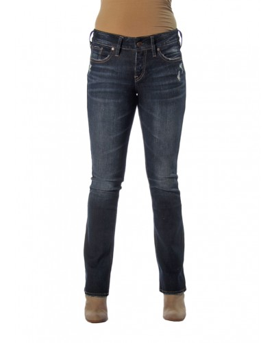 Elyse Slim Boot in Indigo by Silver Jeans Company
