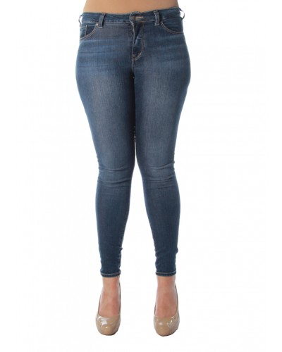 Bleeker Jeggings Mid-Rise in Indigo by Silver Jeans Company
