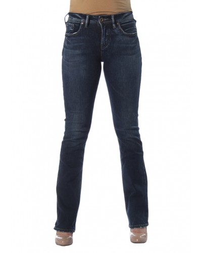 Avery slim Boot in Indigo by Sliver Jeans Company